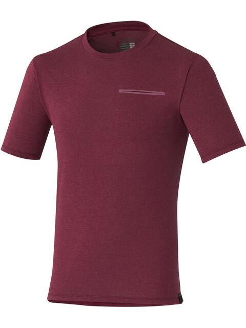 Shimano Transit T-Shirt Heren rood